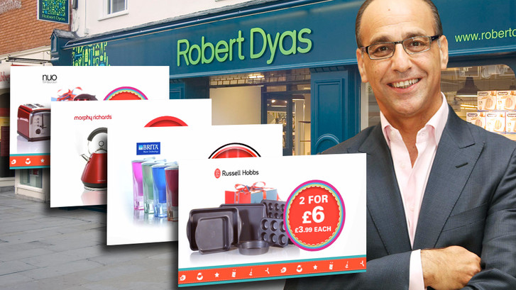 Dyas 20% uplift with TV Xmas campaign