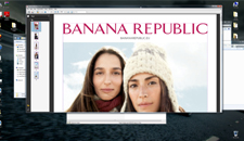 Banana Republic in production